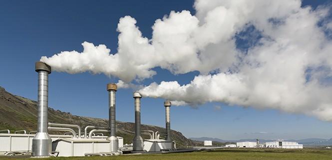 energía geotérmica industrial